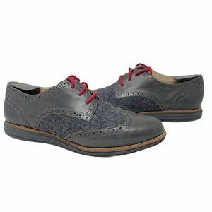Cole Haan Lunargrand gray Oxfords size 10B
